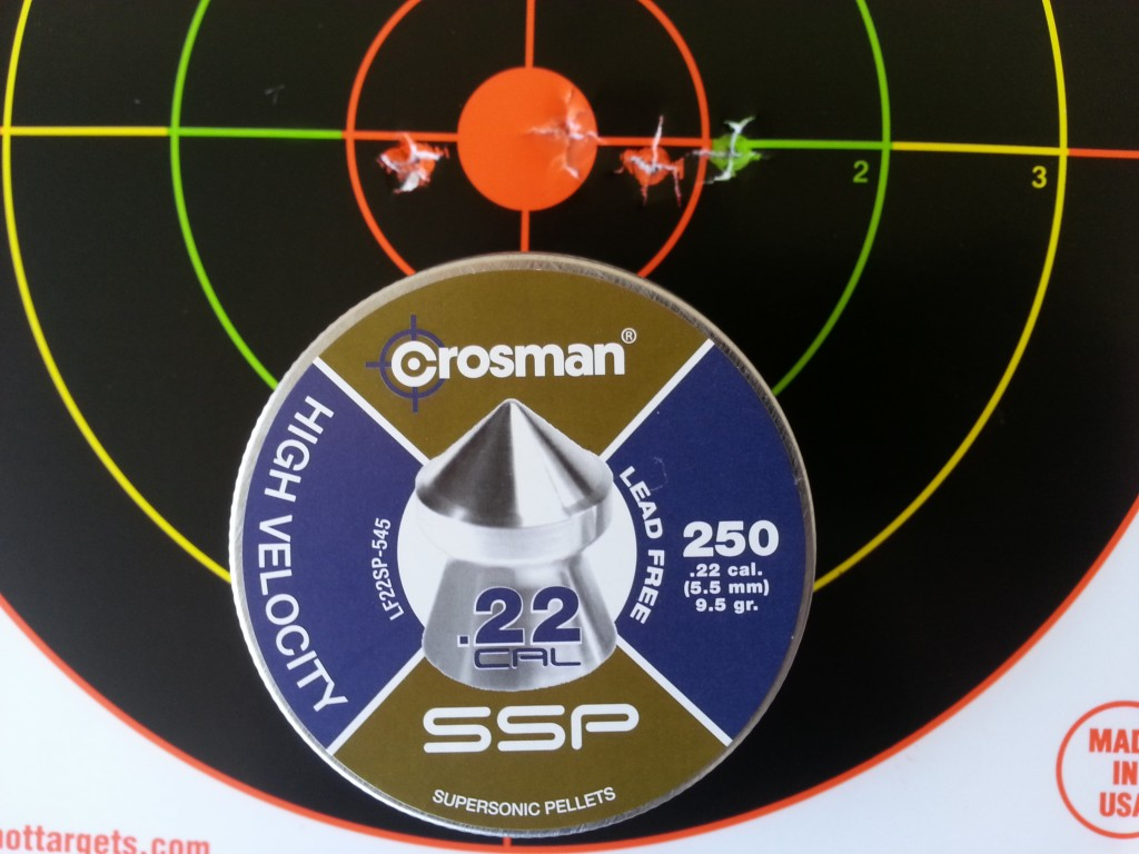 Crosman 1322 air pistol 10
