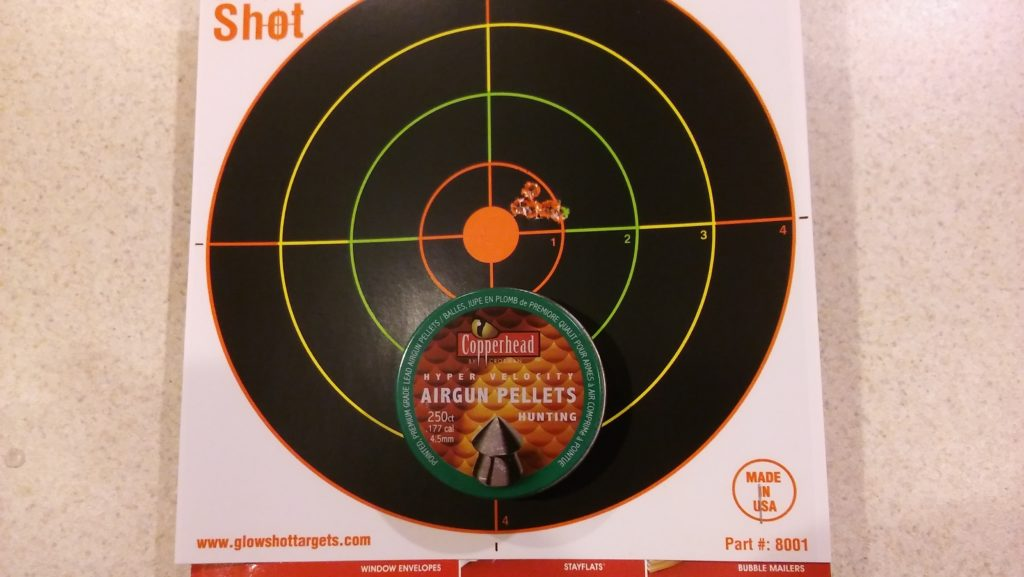 Daisy Powerline 880 - target and accuracy