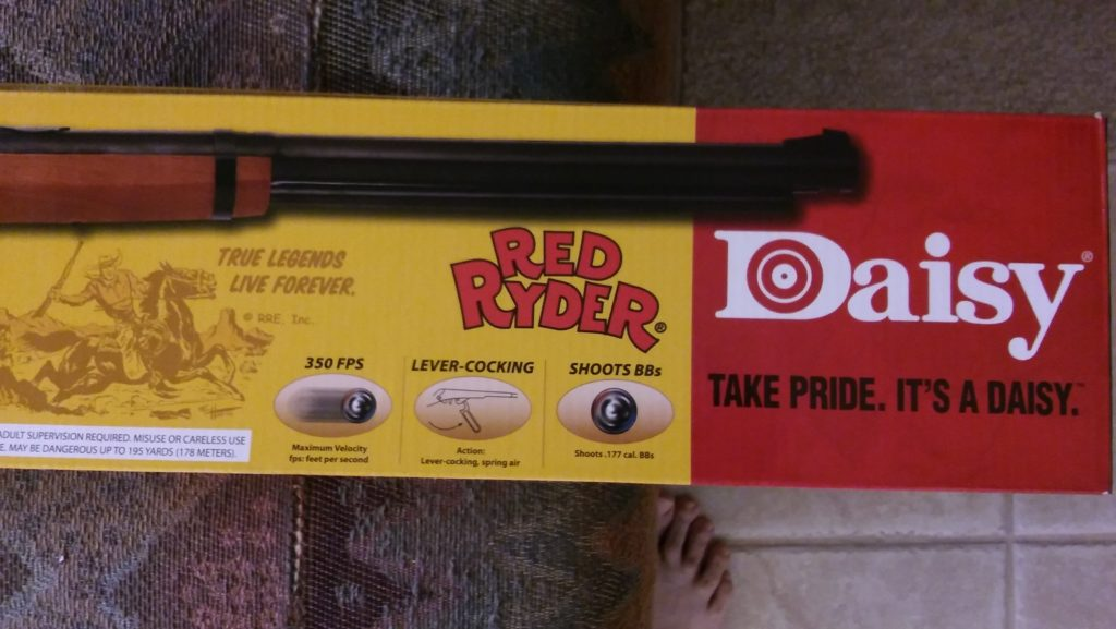 Daisy Red Ryder BB Gun in box